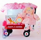 All Girl Baby Wagon - Baby Gift Basket