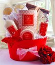 Ginger & White Tea Luxury Spa Gift Basket