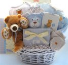 Baby's Best Friend Teddy (Boy) - Baby Gift Basket