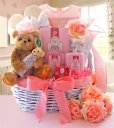 Mommy & Me Rose - Baby Gift Basket