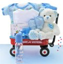 All Boy Baby Wagon - Baby Gift Basket