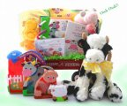 Baby Einstein Day On The Farm - Baby Gift Basket